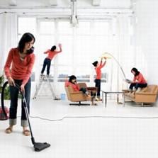 Уборка дома - тяжкий труд